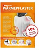 10 x Heat Packs, heating time up to 12 hours, max. temperature of 63°C