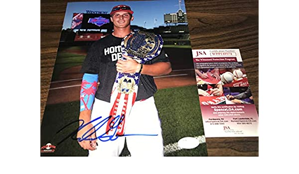 Nolan Gorman St Louis Cardinals Autographed Signed 8x10 JSA WITNESS COA Under Armour Game at Amazons Sports Collectibles Store