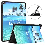 Soke Galaxy Tab A 10.1 Case 2019, Premium Shock Proof Stand Folio Case,Multi- Viewing Angles, Soft TPU Back Cover for Samsung Galaxy Tab A 10.1 inch...