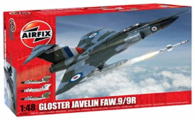 Airfix Gloster Javelin FAW.9/9R Model Kit (1:48 Scale)