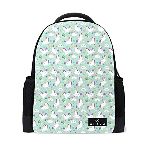 Most Durable Lightweight Unicorn Pattern Vector Im Backpack Casual Daypack -