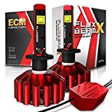 OPT7 Fluxbeam X H3 LED Fog Light Bulbs - 8,400Lm 6000K Daytime White - All Bulb Sizes - 2 Year Warranty