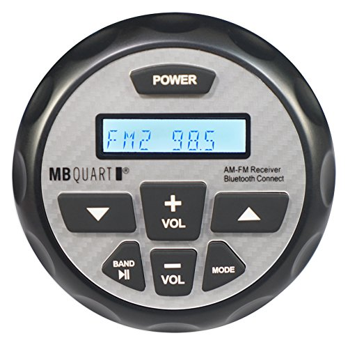 MB Quart GMR2.5 Gauge Hole Bluetooth Marine Apple Control Receiver for Boat by MB Quart