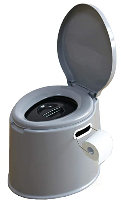 Basicwise Portable Travel Toilet