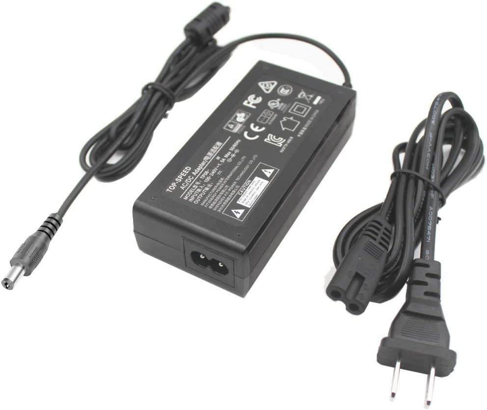 "AC Adapter For LG 22LE5300 22LE5500 22/"" HD LED TV LCD HDTV Power Supply Charger"