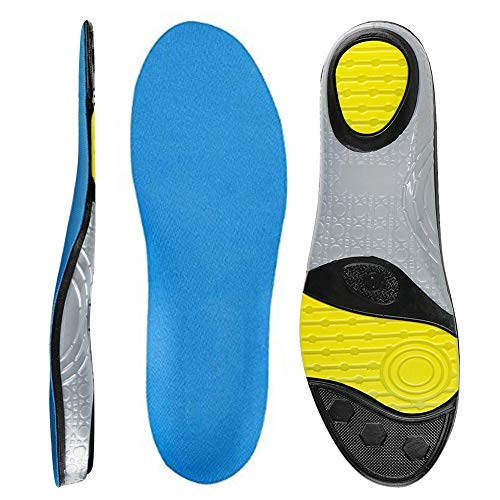 MUOU Sneakers Insoles Inserts Neutral Arch Support Sports Shoes Insole Performance Running Shoes