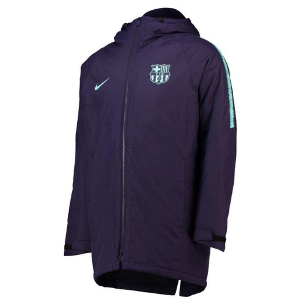 Nike 2018-2019 Barcelona Squad Padded Jacket (Purple)
