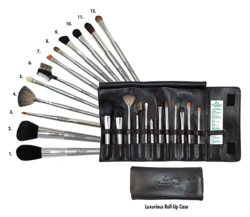 FantaSea 12 piece Cosmetic Brush (Fantasea Cosmetics)