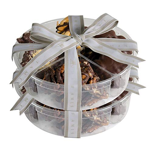 Nut Clusters Chocolate 2 Pack - Chocolate Nuts Gift Set, Kosher Pareve (2 Lb) ()