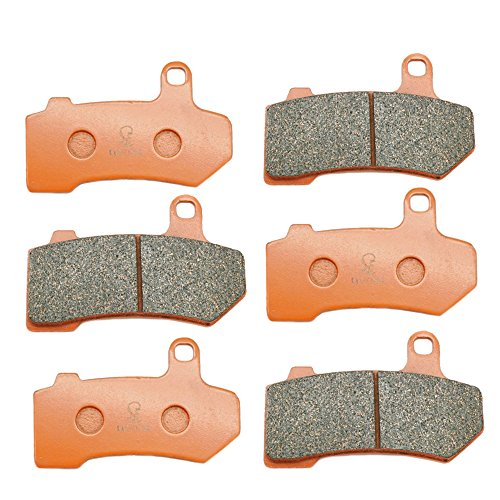 Lefossi Front Rear Carbon Fiber Brake Pads Brakes for for sale  Delivered anywhere in USA