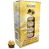 Ferrero Rocher Fine Hazelnut Chocolates 12/3Pk - T3 by Ferrero Rocher