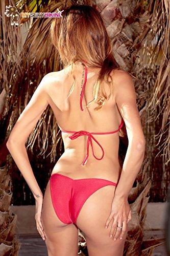 Tinta da Tanga Arancione brasiliano Unita Blu Bianco Rosa Viola Bikini nbsp; Rosso Costume Donna bagno Nero Marrone 4wdx6qYq