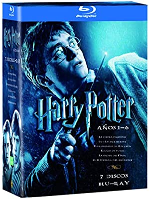 Pack Harry Potter: (Años 1-6) [Blu-ray]: Amazon.es: Varios: Cine y ...
