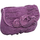 Inge Christopher Christy Convertible Clutch,Violet,one size, Bags Central