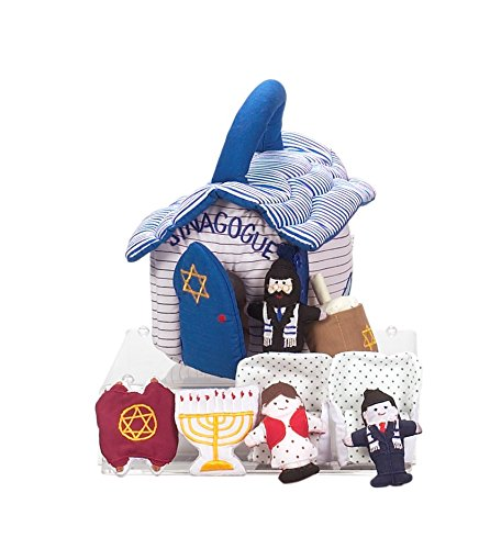 Need Judaica Plush Synagogue Toy with 9 Removable Play Pieces (Torah Toy)