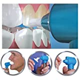 Tooth Polisher Whitener Stain Remover with LED Light Luma Smile Rubber Cups By Almand