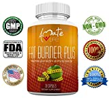 Cheap Amate Life Fat Burner Plus Natural Supplement -Strong Combination of Fat Burning Ingredients -Lose Weight & Increase Metabolism-Control Appetite-Stimulant Free-Non GMO Dietary Supplement