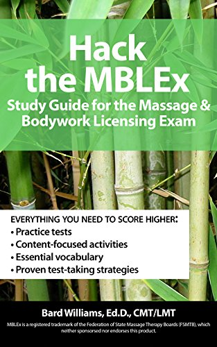 Hack MBLEx Massage Bodywork Licensing ebook product image