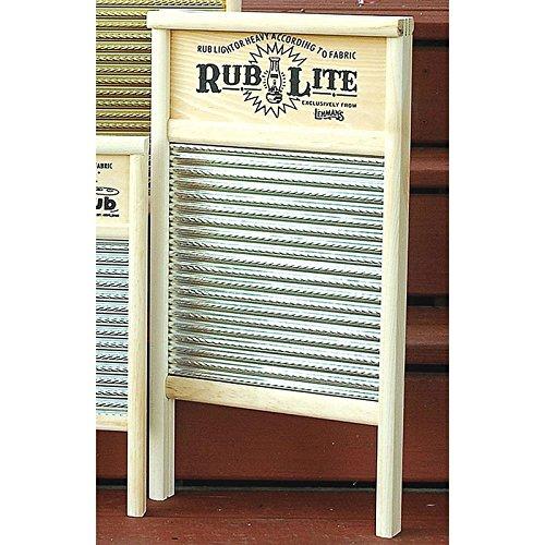 "Maid-Rite Washboard 12-7/16"" X 23-3/4"" Overall Wood Bulk"