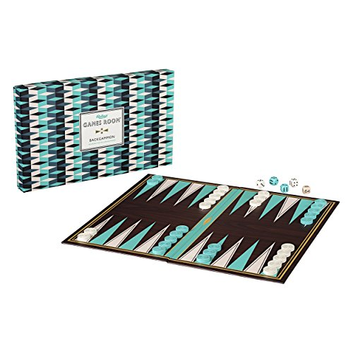 Ridley's Classic 36Piece Backgammon Family Folding Board Game