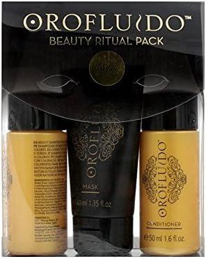 Orofluido Beauty Ritual Pack, Kit de Viaje Oro Fluido - 400 ml ...
