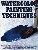 Watercolor Painting Techniques, , 0823056694