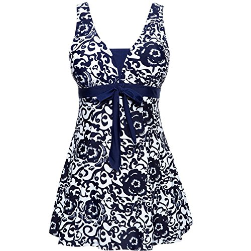 oriental bow bandeau dress - 5