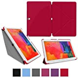rooCASE Samsung Galaxy Tab Pro 10.1 / Note 10.1 2014 Edition Case - Origami Slim Shell 10.1-Inch 10.1