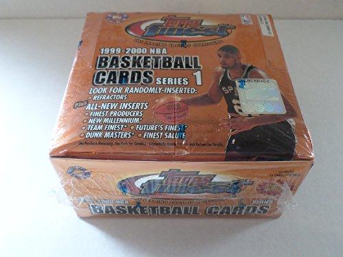 (Topps Finest 1999-2000 NBA Box Series 1)