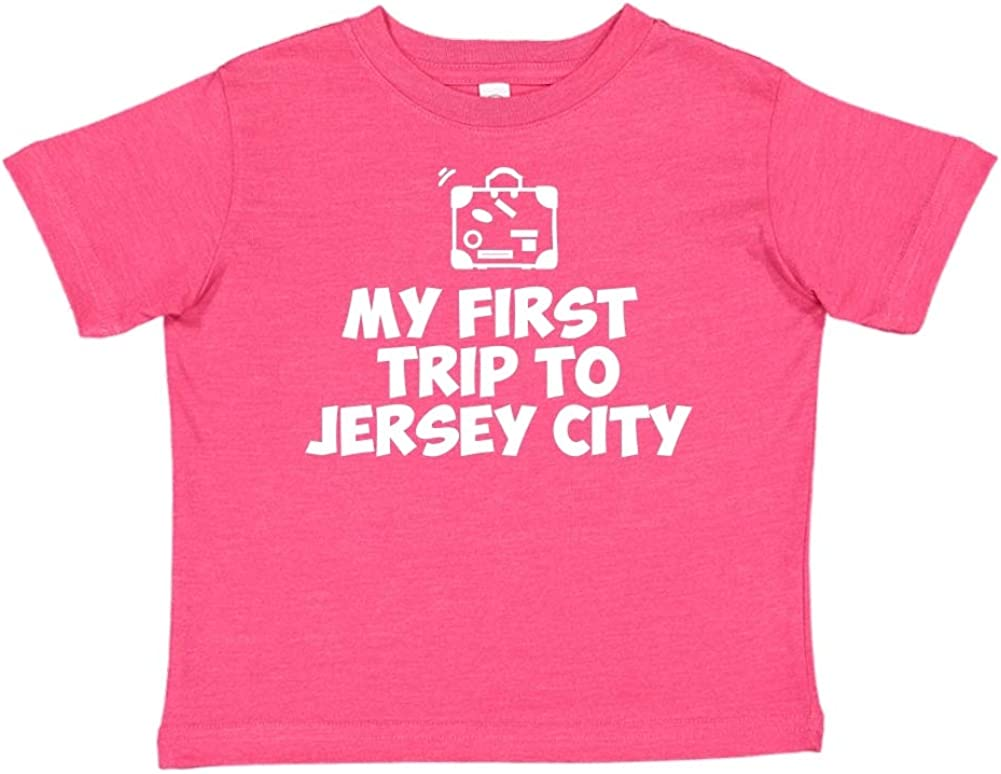 Mashed Clothing My First Trip to Jersey City Toddler//Kids Short Sleeve T-Shirt