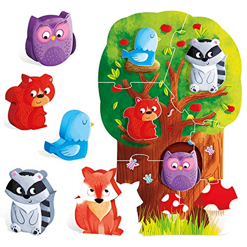 Headu it20133–Montessori First Pieces Game The Forest