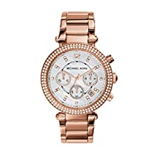 Michael Kors Women's Parker MK5491 Rose Gold Stainless-Steel Quartz Watch