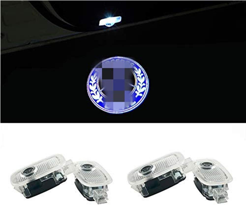 QJZoncuji 4 St/ücke T/ürlicht Projektor Logo T/ür Einstiegsbeleuchtung Einstiegslicht willkommen licht