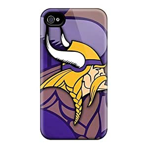 Rosesea Custom Personalized Special Design Back Minnesota Vikings Phone Cases Covers Case For HTC One M7 Coverplus
