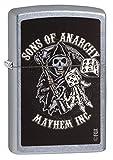 zippo insert lighter - Zippo Sons of Anarchy Mayhem Inc. Pocket Lighter