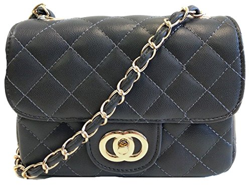 Gossip Prom Shoulder For Bag Ideal Weddings With Strap Chain Cross Bridal Padded Evening Small Gold Black Ladies Quilted Girl Parties Body fAxFwCfqp