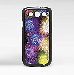 Colorful Fireworks Hard Snap on Phone Case (Galaxy s3 III)