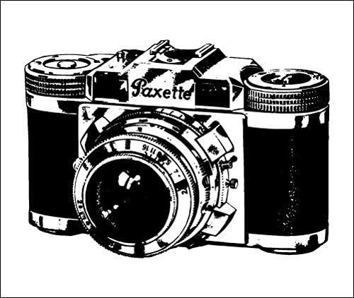Tatuaje Temporal Tattify - Retro Camera - Sin cámara de teléfono ...