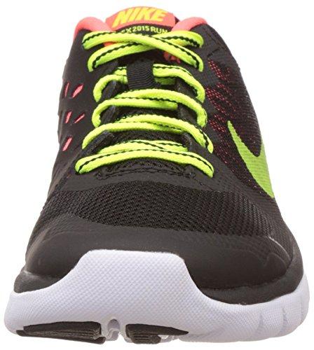 Nike Flex 2015 RN (GS) - Zapatillas para niño, color azul / blanco / negro