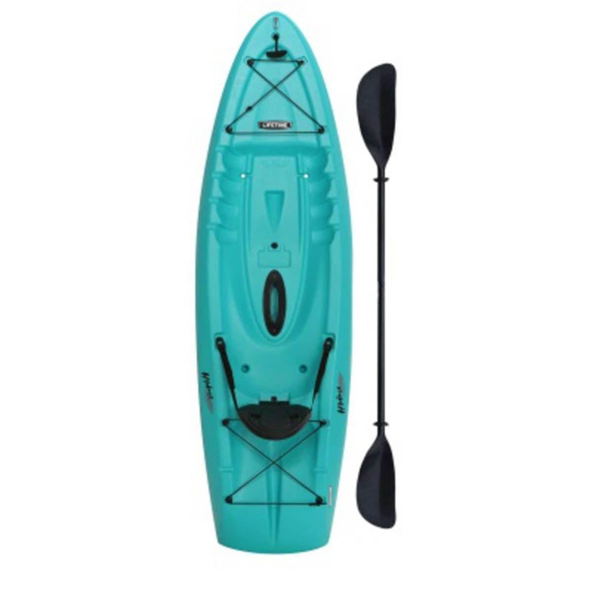 Lifetime Aqua Hydros 8' Kayak With Paddle