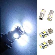 AliMant(TM) 1PCS T11 BA9S 5050 5-SMD LED Yellow Light Bulb Car Lamp 12V T4W 3886X H6W 363