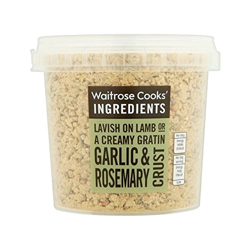 Cooks' Ingredients Garlic & Rosemary Crust Waitrose 130g - Pack of 4
