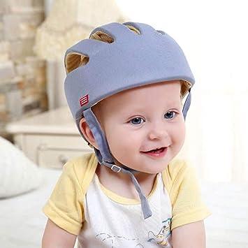 Edelehu Protección para La Cabeza Bebé Casco De Seguridad para Niños Casco De Seguridad para Bebés