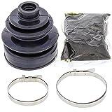 All Balls 19-5009 Black 18mm x 66mm x 82mm Long CV Boot Kit