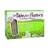 Le Pain Des Fleurs Organic Buckwheat Crispbread, 4.4 Ounce (Pack of 24)