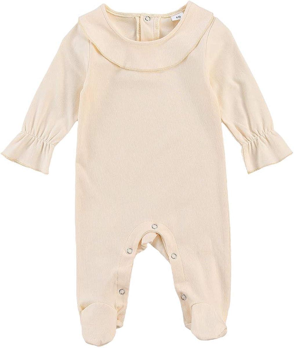 GanCheng Babys Black Romper for Baby Girl Geek Bodysuit Happy Thanksgiving Onesies