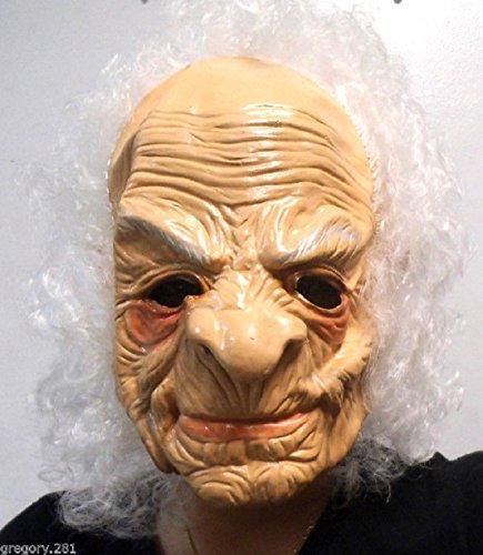 Halloween old man mask