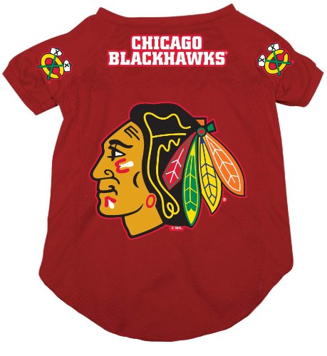 Chicago Blackhawks Pet Dog Hockey Jersey XL