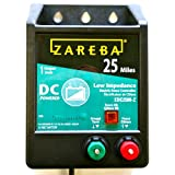 Zareba EDC25M-Z 25-Mile Battery Operated Low Impedance Fence Charger
