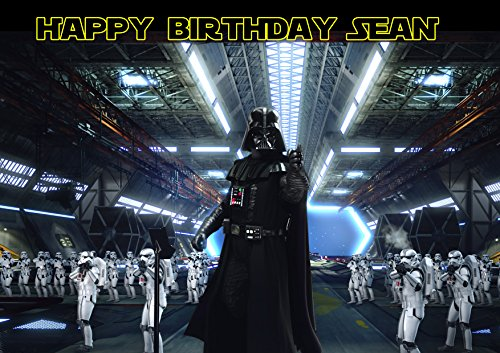 Darth Vader Star Wars Birthday Cake Personalized Cake